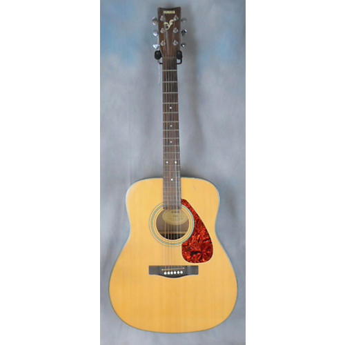Yamaha F325 Natural Acoustic Guitar-thumbnail