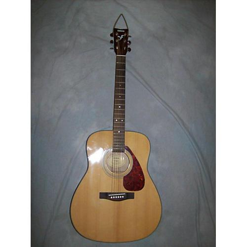 Yamaha F325 Natural Acoustic Guitar-thumbnail
