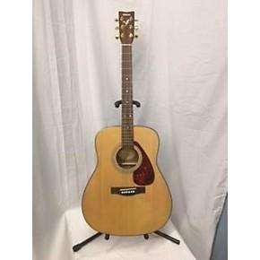 Guitarcenter Yamaha F Acoustic Guitar Natural   Gc