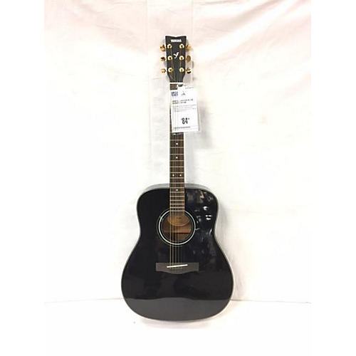 used yamaha f335 acoustic guitar black guitar center. Black Bedroom Furniture Sets. Home Design Ideas