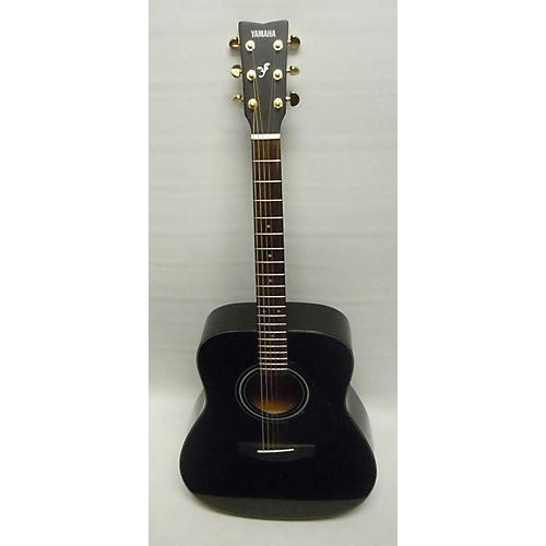 used yamaha f335 acoustic guitar black with gold hardware guitar center. Black Bedroom Furniture Sets. Home Design Ideas