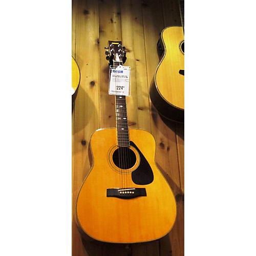 Yamaha F345 Natural Acoustic Guitar-thumbnail