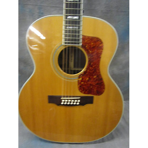 Guild F512 12 String Acoustic Electric Guitar-thumbnail