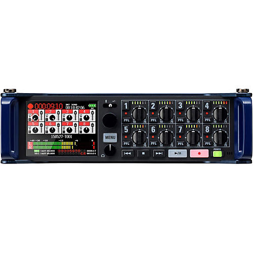 Zoom F8 Multi-Track Field Recorder-thumbnail