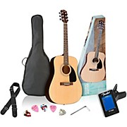 Fender FA-100 Dreadnought Acoustic Guitar Pack
