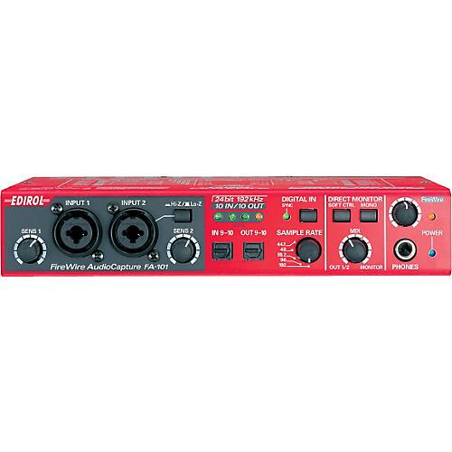 Edirol FA-101 FireWire Audio Capture Interface-thumbnail