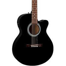 FA-135CE Cutaway Concert Acoustic-Electric Guitar Black