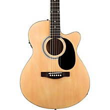 Fender FA-135CE Cutaway Concert Acoustic-Electric Guitar Level 1 Natural