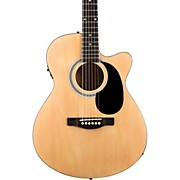 FA-135CE Cutaway Concert Acoustic-Electric Guitar Natural