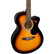 FA135CE Concert Acoustic-Electric Guitar 3-Color Sunburst