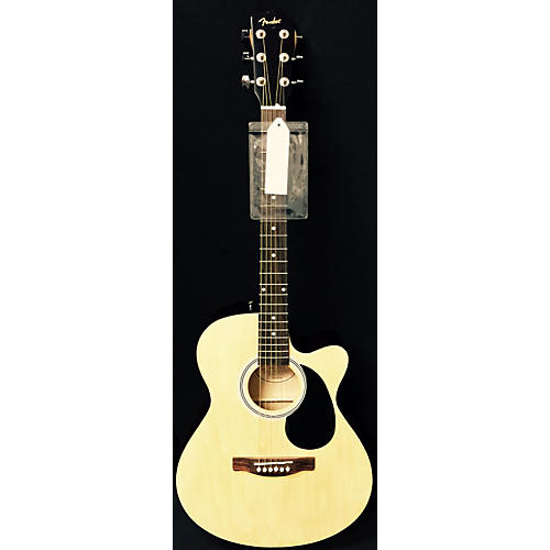 Fender FA135CE Concert Natural Acoustic Electric Guitar