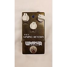Wampler FAUX SPRING REVERB Effect Pedal
