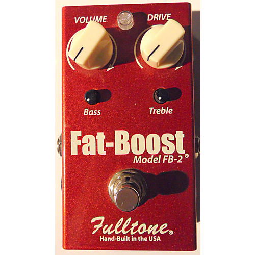 Fulltone FB2 Fat Boost Clean Booster Effect Pedal-thumbnail