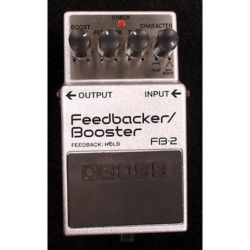 Boss FB2 Feedbacker Booster Effect Pedal