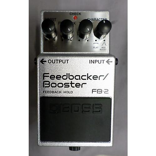 Boss FB2 Feedbacker Booster Effect Pedal-thumbnail