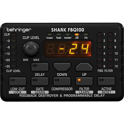 Behringer FBQ100 Shark Automatic Feedback Destroyer