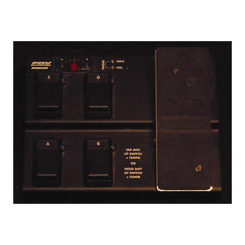 Line 6 FBV Express MKII 4 Button Black Footswitch-thumbnail
