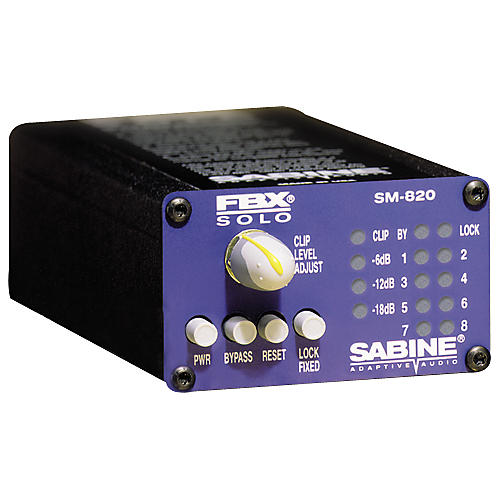 Sabine FBX-SOLO SM820 Digital Feedback Eliminator XLR