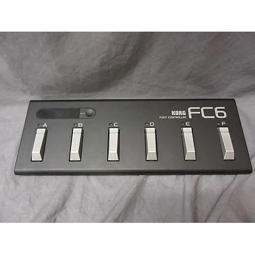 Korg FC6 MIDI Foot Controller
