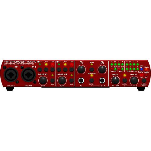 Behringer FCA610 Firepower/USB Audio Interface