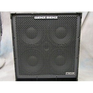 Pre-owned Genz Benz FCS-410T Bass Cabinet by Genz Benz