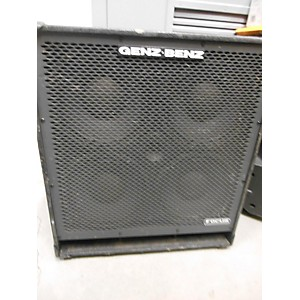 Pre-owned Genz Benz FCS140T Bass Cabinet by Genz Benz