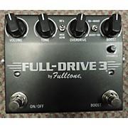 Fulltone FD-3 FULL DRIVE 3 Effect Pedal