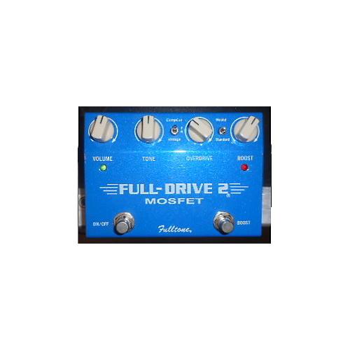 Fulltone FD2MOS Fulldrive 2 Mosfet Overdrive Blue Effect Pedal-thumbnail