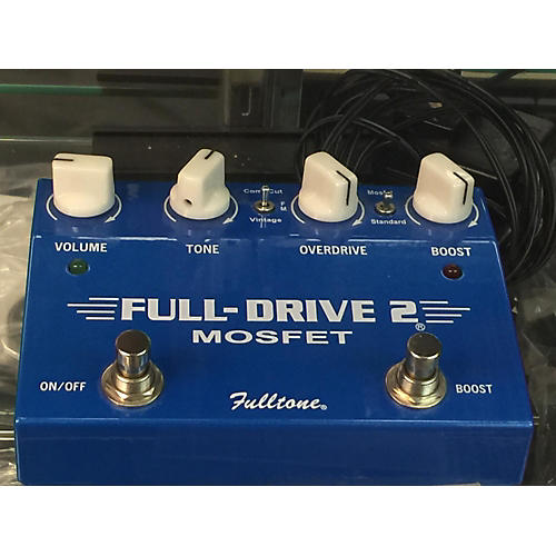 Fulltone FD2MOS Fulldrive 2 Mosfet Overdrive Blue