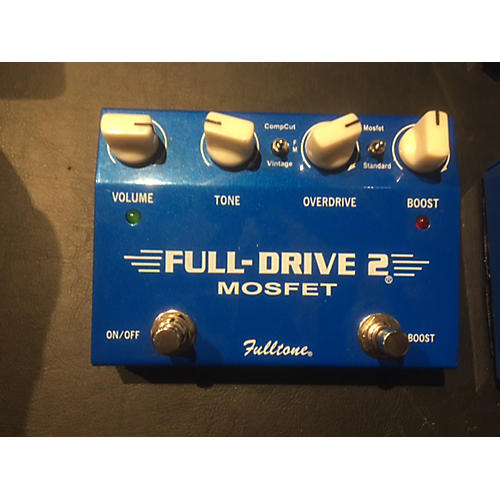Fulltone FD2MOS Fulldrive 2 Mosfet Overdrive Effect Pedal-thumbnail