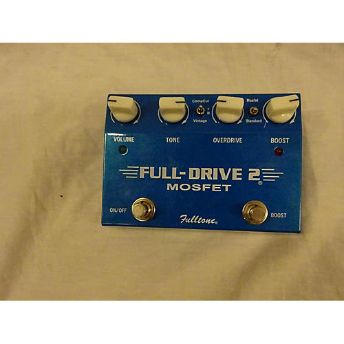 used fulltone fd2mos fulldrive 2 mosfet overdrive effect pedal guitar center. Black Bedroom Furniture Sets. Home Design Ideas