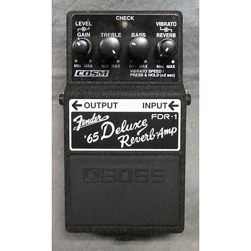 Boss FDR1 Fender 65 Deluxe Reverb Effect Pedal