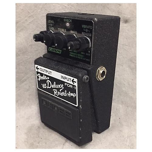 used boss fdr1 fender 65 deluxe reverb effect pedal guitar center. Black Bedroom Furniture Sets. Home Design Ideas