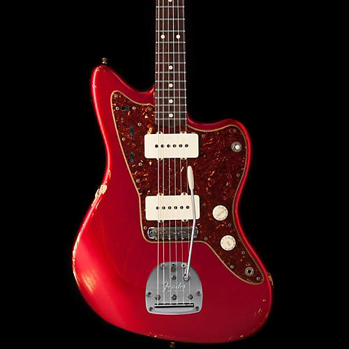 Fender Custom Shop FENDER 923 1002 228 WC CST SHOP 1962 JAZZMASTER RELIC ASH CANDY APPLE RED