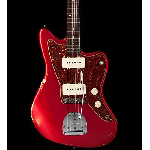 Fender FENDER 923 1002 228 WC CST SHOP 1962 JAZZMASTER RELIC ASH CANDY APPLE RED