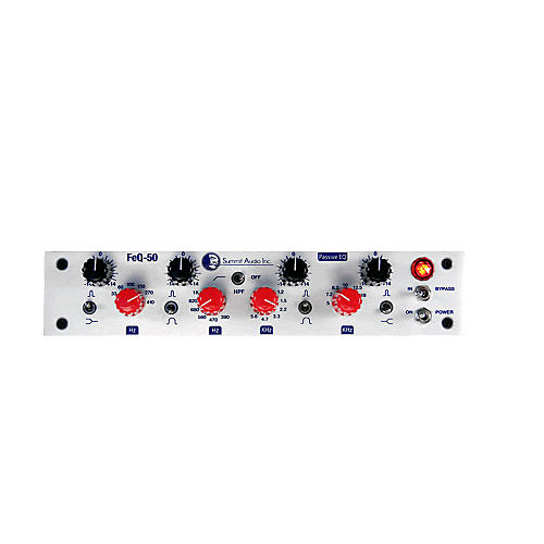 Summit Audio FEQ 50 Passive Tube Solid State EQ-thumbnail