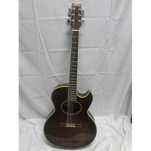 used washburn festival acoustic guitar mahogany guitar center. Black Bedroom Furniture Sets. Home Design Ideas