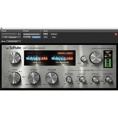 Softube FET Compressor NATIVE Plug-In Software --thumbnail