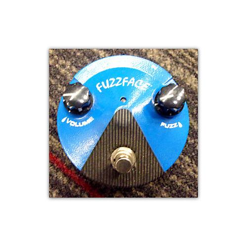 Dunlop FFM1 Silicon Fuzz Face Mini Blue Effect Pedal-thumbnail