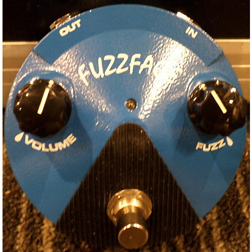 Dunlop FFM1 Silicon Fuzz Face Mini Blue Effect Pedal