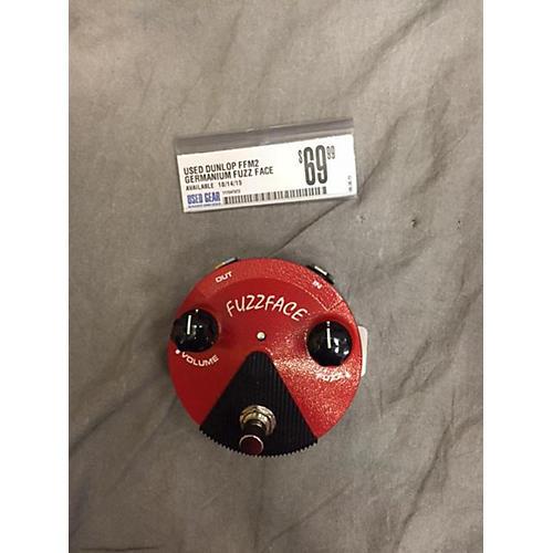Dunlop FFM2 Germanium Fuzz Face Mini Red Effect Pedal-thumbnail