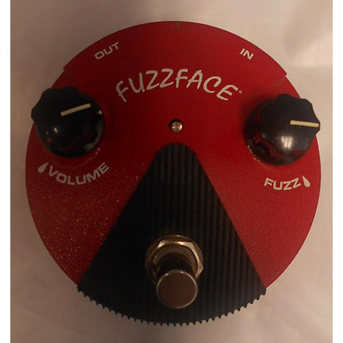 Dunlop FFM2 Germanium Fuzz Face Mini Red Effect Pedal-thumbnail