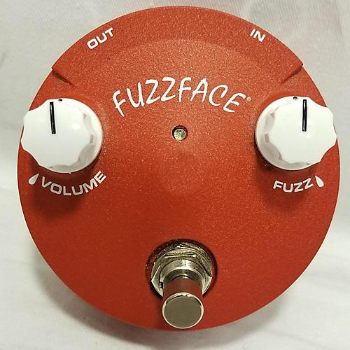 Dunlop FFM2 Germanium Fuzz Face Mini Red Effect Pedal