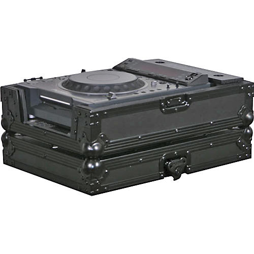 Odyssey FFXCDJBL Large Format Tabletop CD/Digital Media Player Case