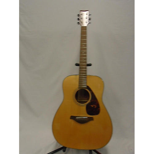 used yamaha fg700s acoustic guitar natural guitar center