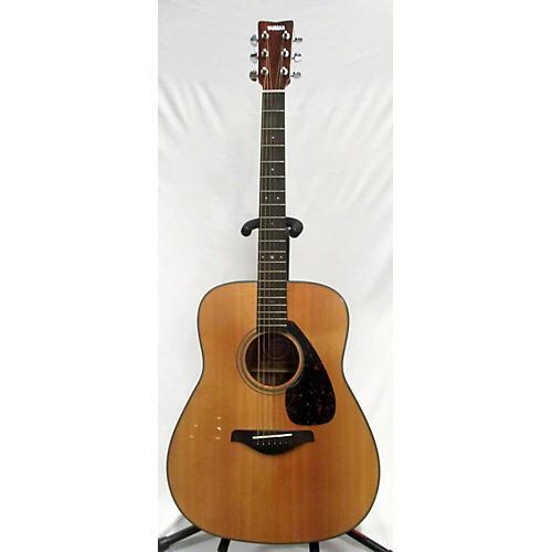 Used yamaha fg710s acoustic guitar guitar center for Yamaha guitar brands