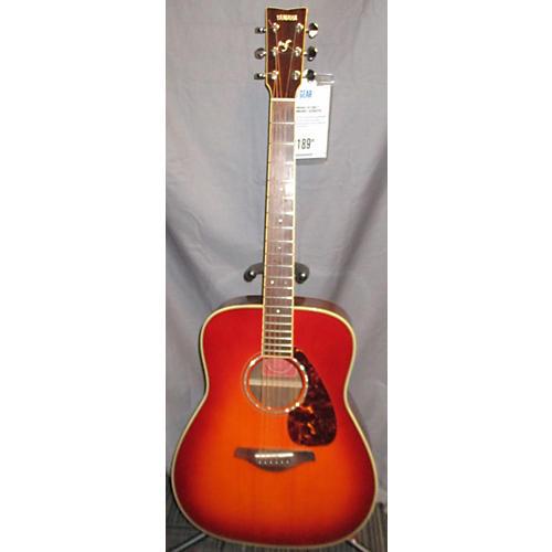 Yamaha FG730S Acoustic Guitar 2 Tone Sunburst