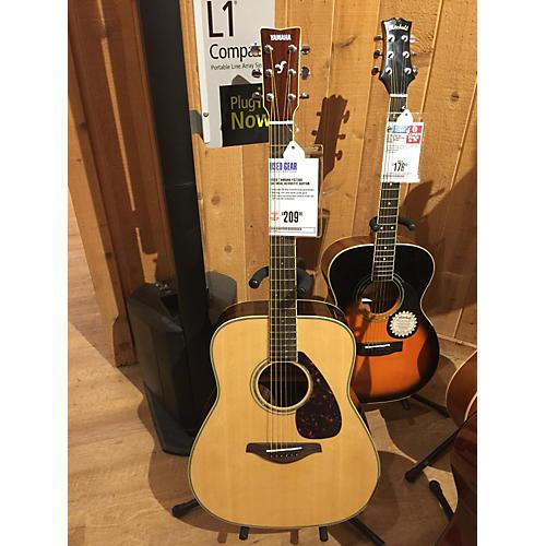 Yamaha FG730S Natural Acoustic Guitar