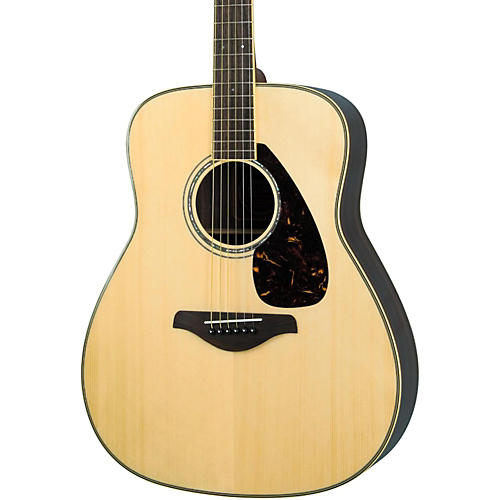 Yamaha FG730S Solid Top Acoustic Guitar Natural
