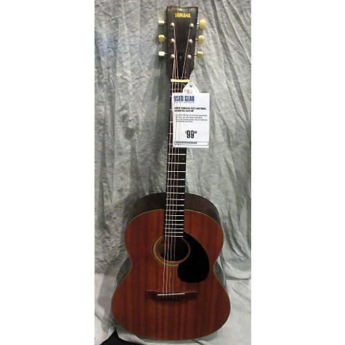 Yamaha FG75 Natural Acoustic Guitar